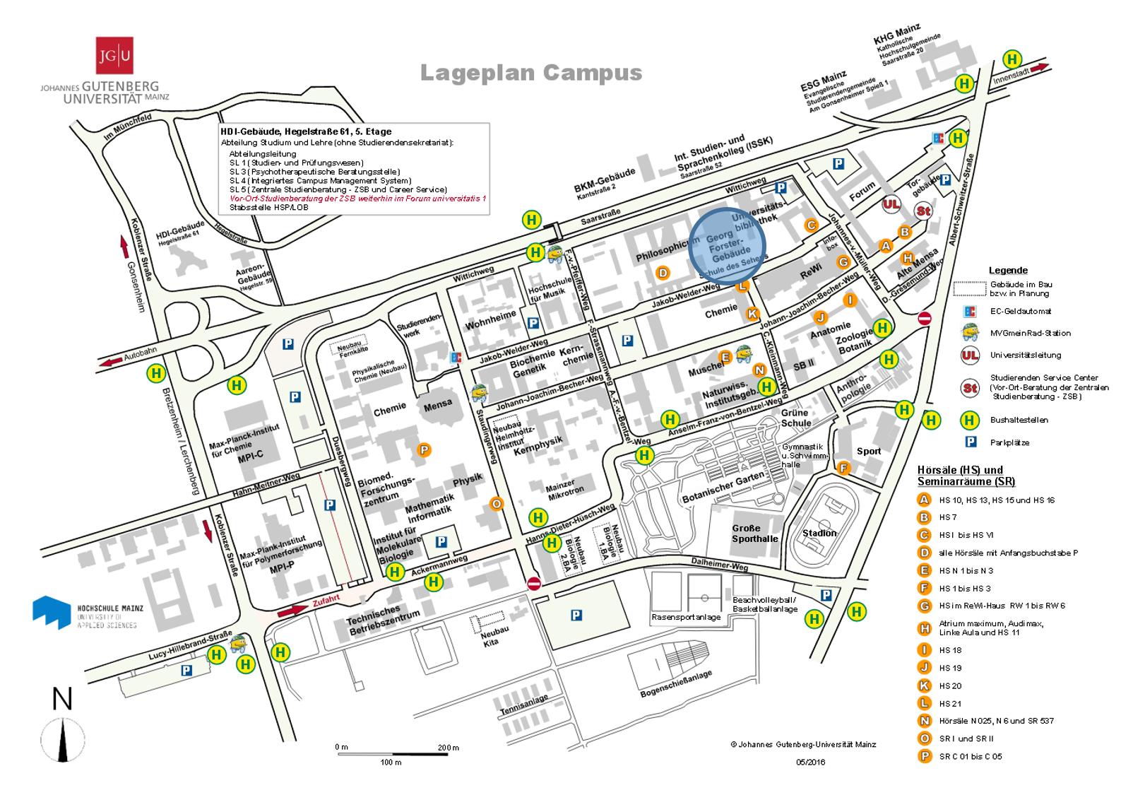 Alle Vorträge finden auf dem Campus der JGU im Georg Forster-Gebäude,  Jakob-Welder-Weg 12, in Raum 01.601 statt.
